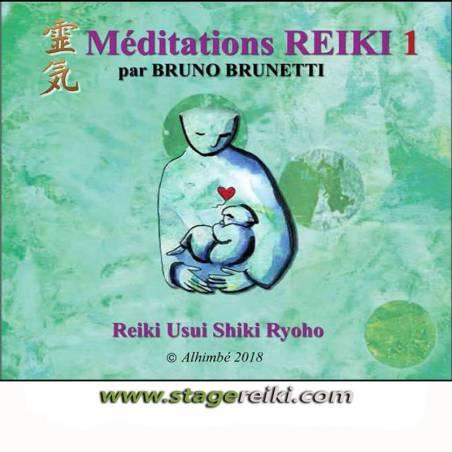 CD Séances guidées REIKI 1
