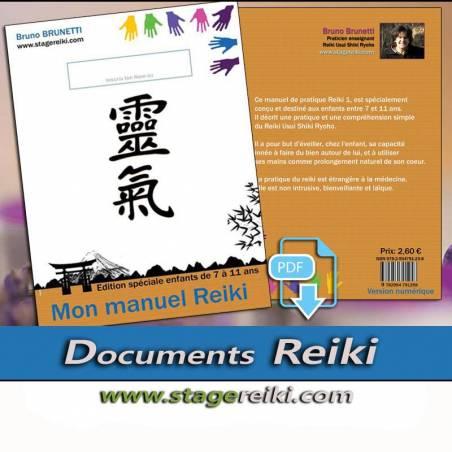 Manuel de Reiki pour Enfant Ebook